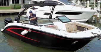 Jacht Sea Ray 290 Sundeck OB - Największy z przyczepnym